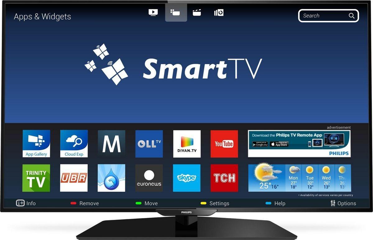 Osobennosti nastrojki v SMART TV Philips