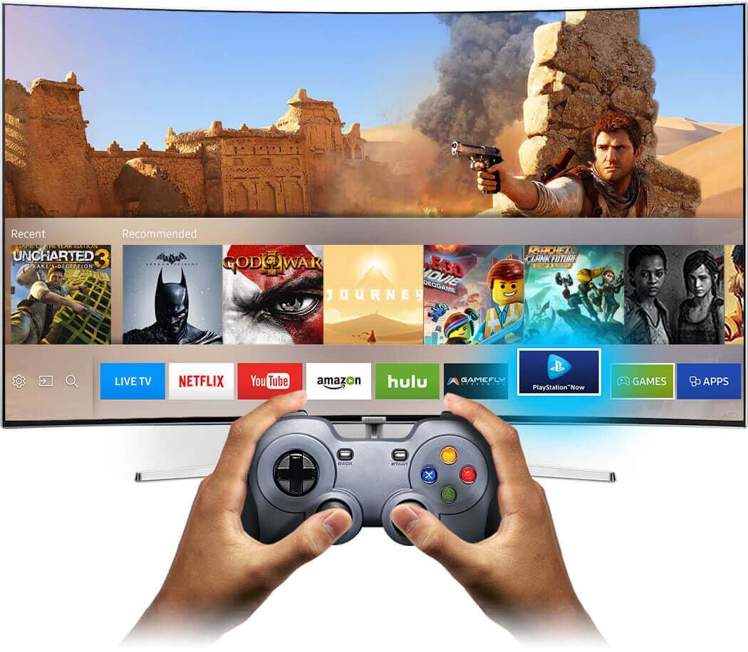 Игровые возможности на телевизоре Smart TV