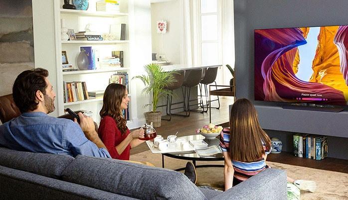 просмотр ТВ-каналов