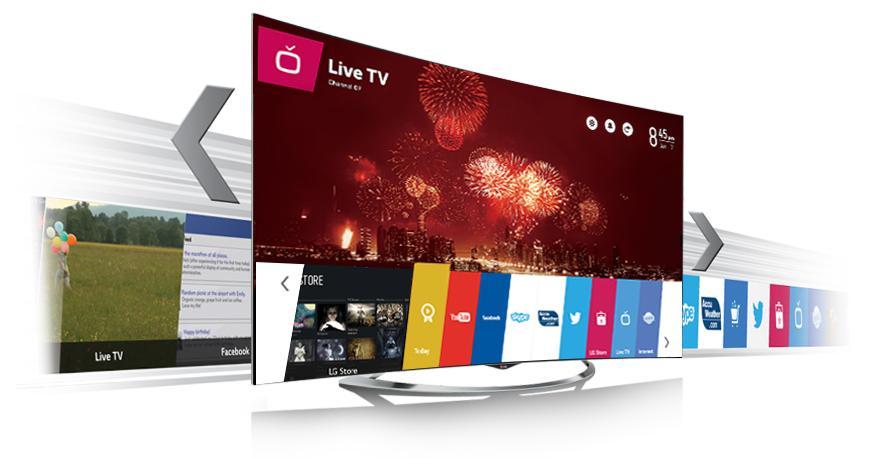 Преимущества WebOS от LG на телевизорах SmartTV